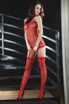 Livia Corsetti - Catriona Red erotyczne bodystocking LC 17093