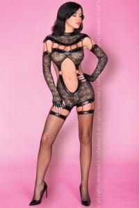 CoFashion - Sakura zmysłowe bodystocking CF 90357