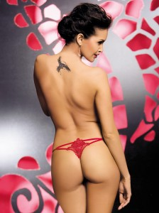 Obsessive - Luiza stringi Red