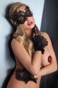 Livia Corsetti - Mask Black maska Model 1 LC 13001